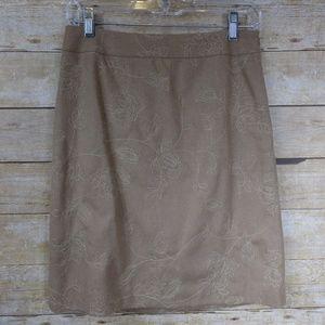 Ann Taylor Lined Wool-Blend Skirt - 2